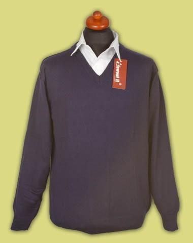sweter cienki w serek 21