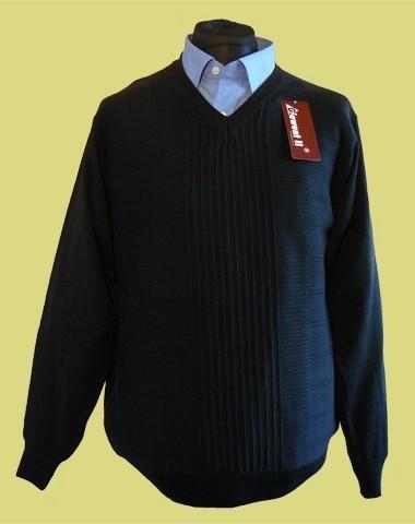 sweter w serek merynos 4