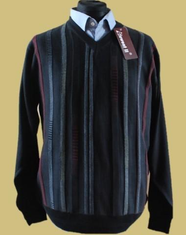 sweter w serek merynos 7