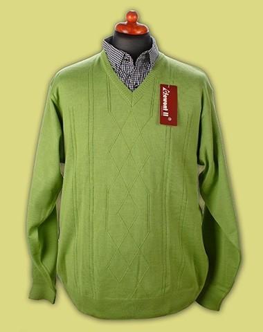sweter w serek cienki 2