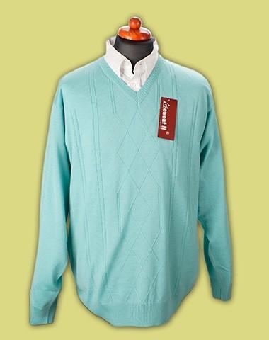 sweter w serek cienki 3
