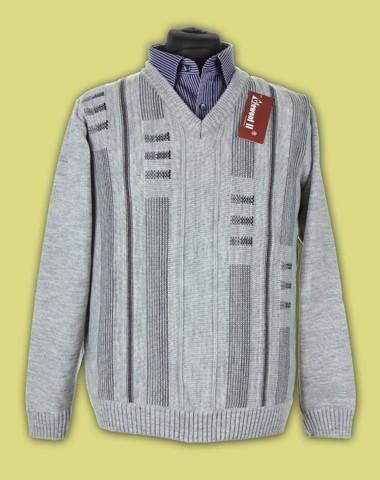 Sweter na guziki gruby 3