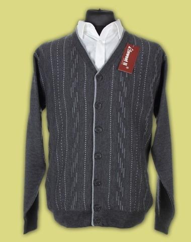 Sweter rozpinany merynos 10