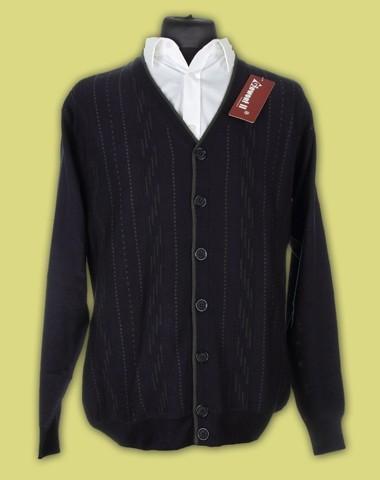Sweter rozpinany merynos 6
