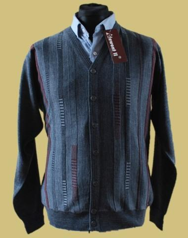 Sweter rozpinany merynos 7