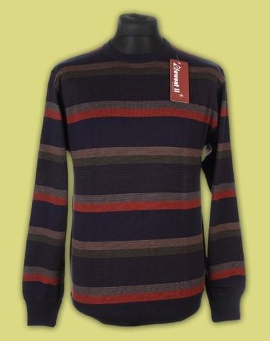 sweter półgolf paski 2