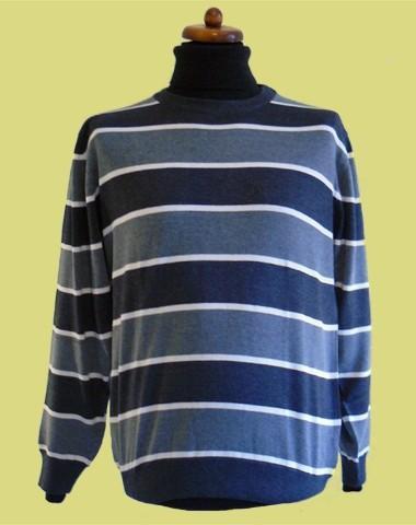 sweter pólgolf paski 4