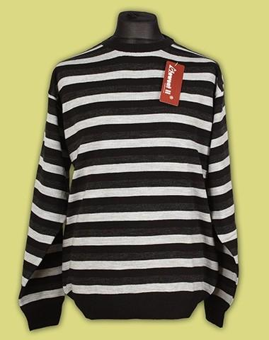 sweter półgolf paski 6