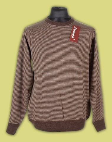 sweter półgolf paski 7